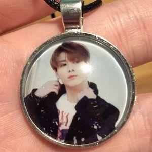 Kpop BTS Jung Kook Leather Necklace